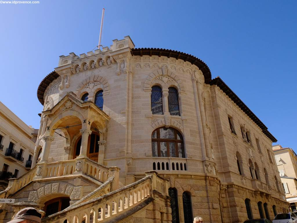 Justizpalast - Palais de Justice - von Monaco