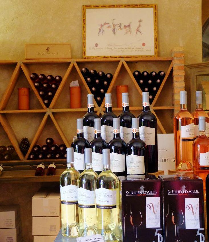 Weingut Château Saint Julien d'Aille Frankreich- Die Bouqtique