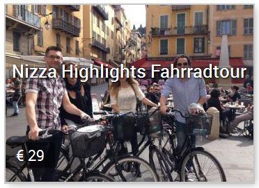 Nizza Highlights Sehenswürdigkeiten Fahrradtouren mit Baja Bikes