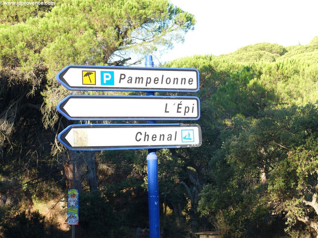 Strand in Südfrankreich - Pampelonne bei St Tropez