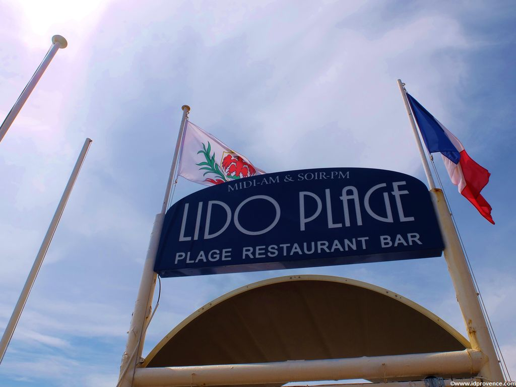 Privatstrand Lido Plage Nizza