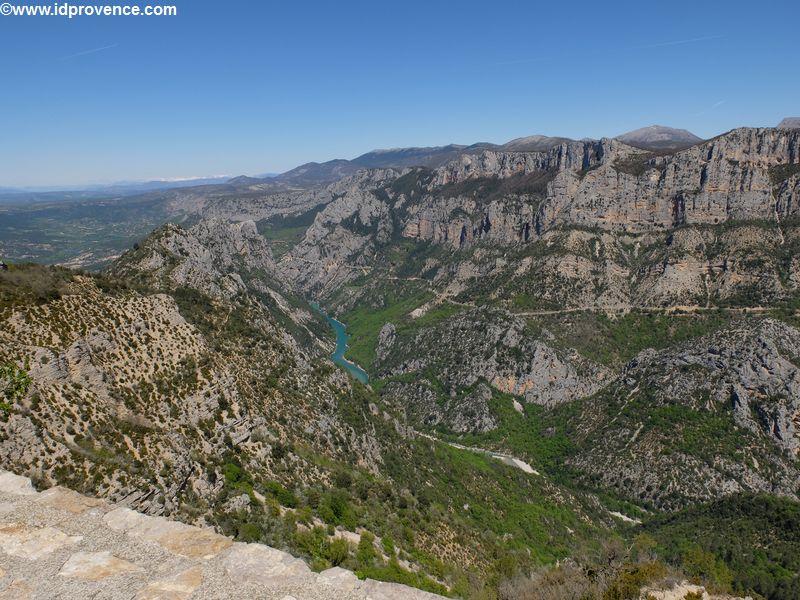 Provence Sehenswürdigkeit - Die Schlucht Gorge du Verdon