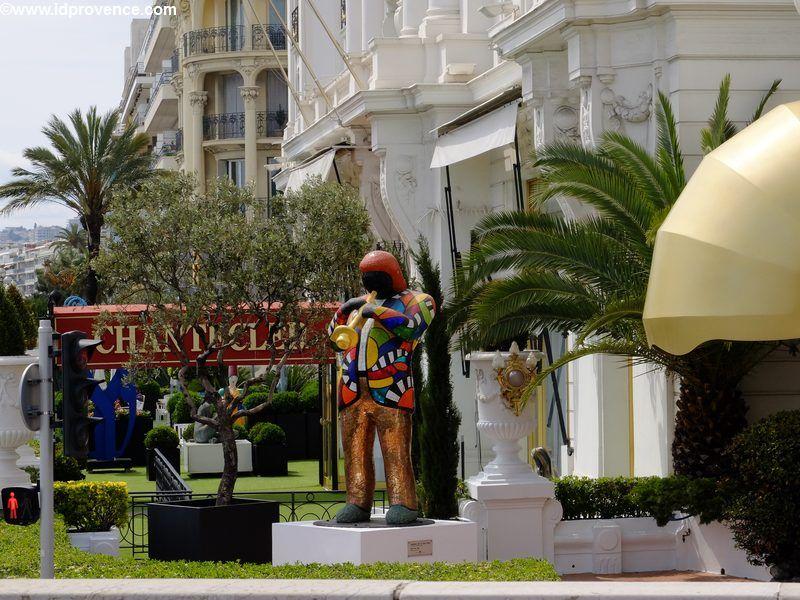 Hotel Negresco - Direkt am Strand von Nizza