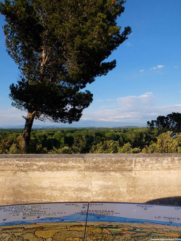 Avignon - Blick vom Rocher des Doms neben dem Papstpalast