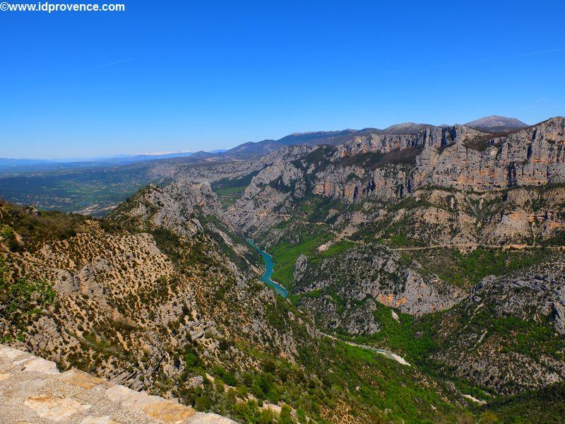 Lac de Sainte-Croix am Gorges du Verdon (Provence)
