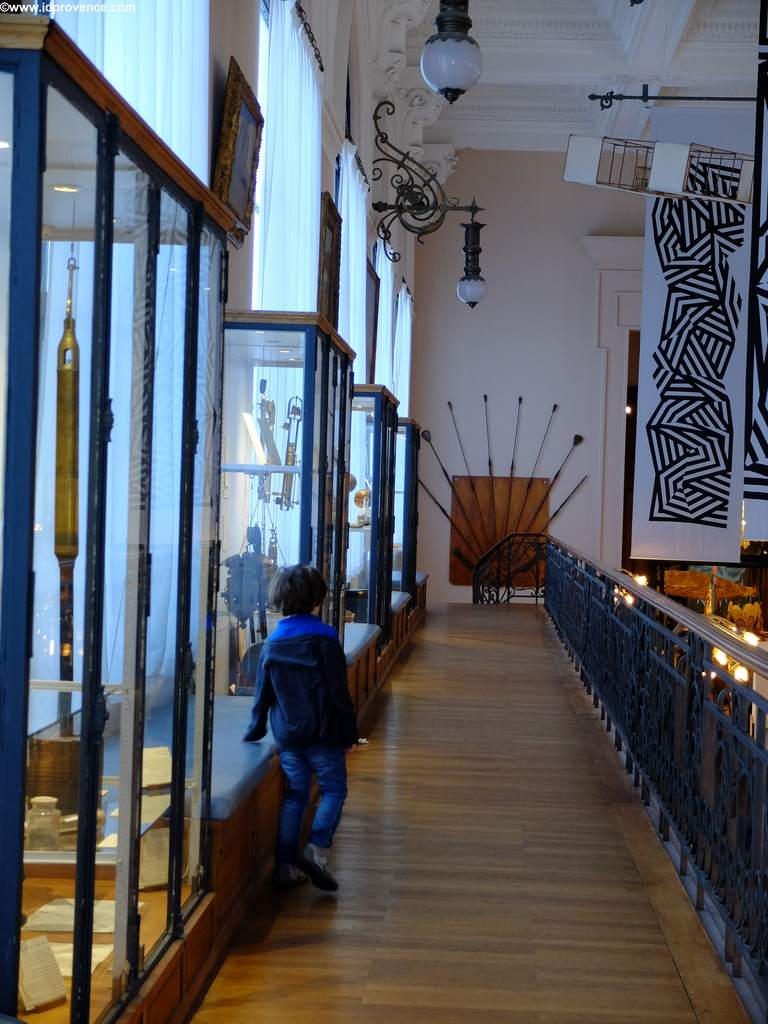 Museum im ersten Obergeschoss