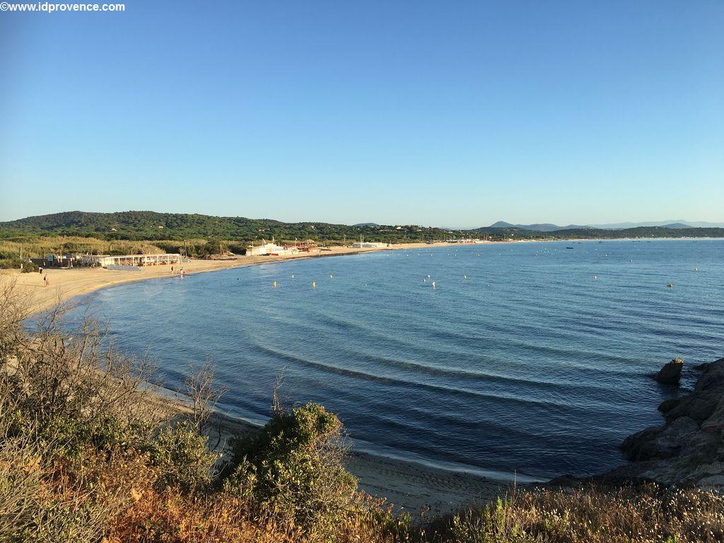 FKK am Strand von Pampelonne in Südfrankreich