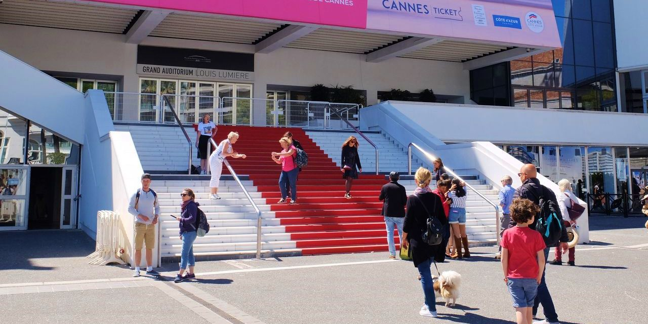 Cannes roter Teppich