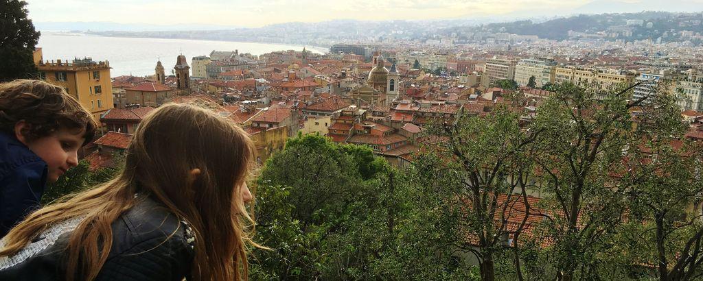 Sehenswürdigkeiten Nizza: Ausblick vom Schlossberg auf die Stadt