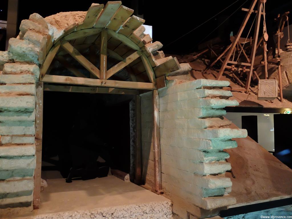 Museum im Pont du Gard -Sehenswürdigkeit in Südfrankreich