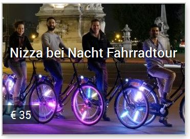 Nizza bei Nachte Fahrradtouren mit Baja Bikes