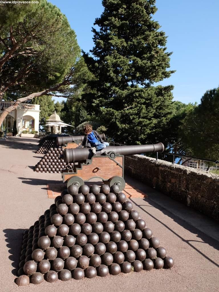 Auf der Burganlage des Palais de Monaco