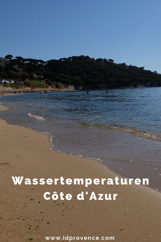 Die Wassertemperaturen des Mittelmeers liegen an der Oberfläche gemessen im Hochsommer bei 23-25 Grad.