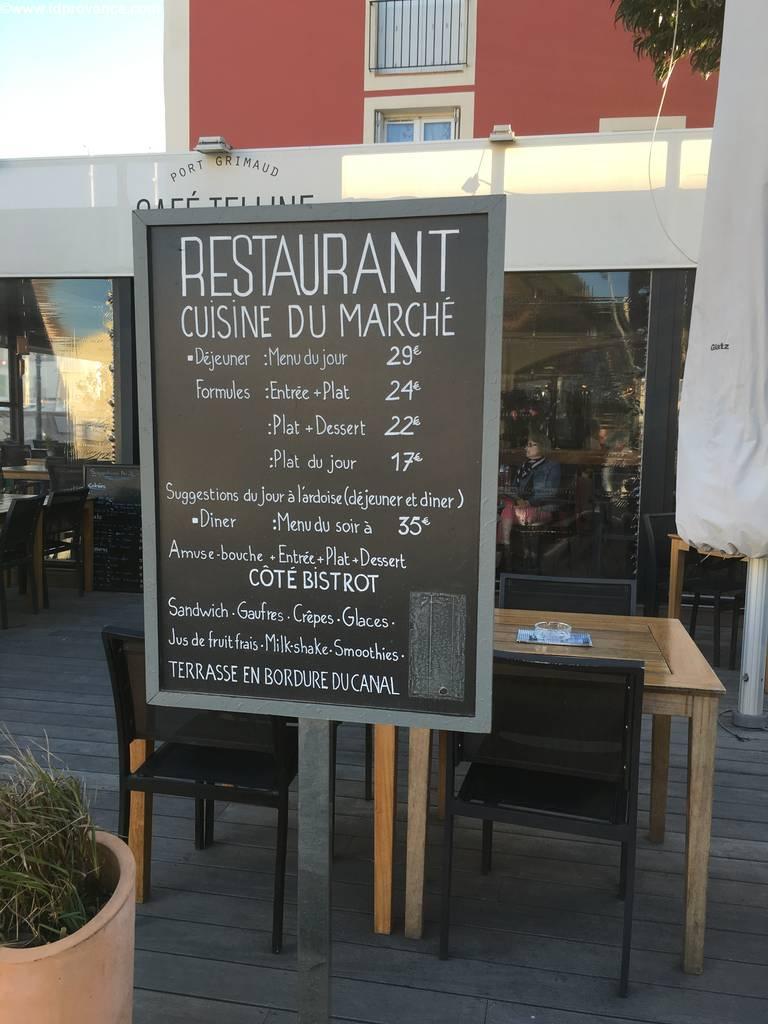 Port Grimaud, der künstliche Hafen in der Bucht von St Tropez :Sehenswürdigkeiten der Provence: Die vielen guten Restaurants