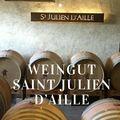 Das Weingut Château Saint Julien d'Aille in Frankreich