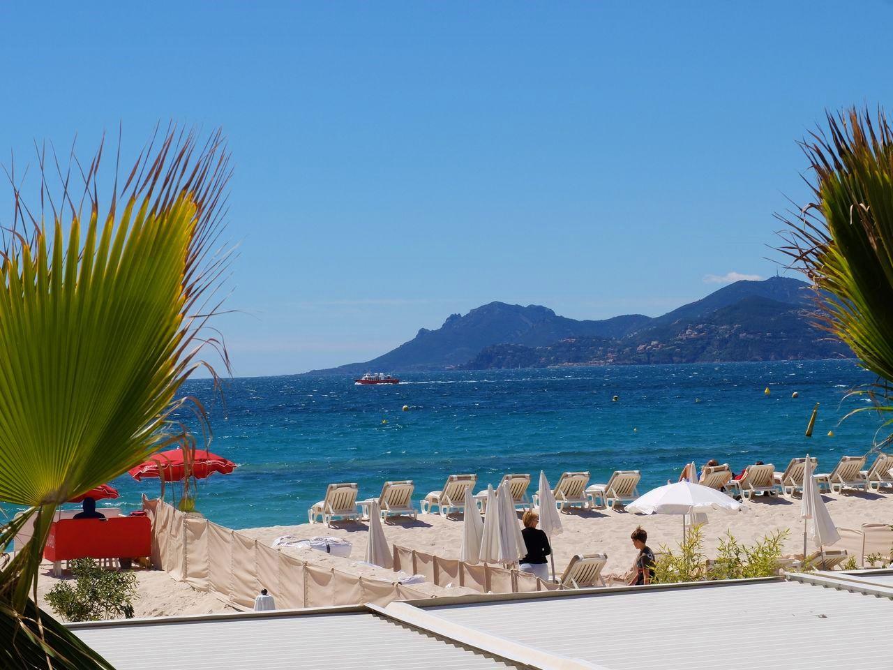 Die Croisette -  Die wohl berühmteste Strandpromenade der Côte d'Azur