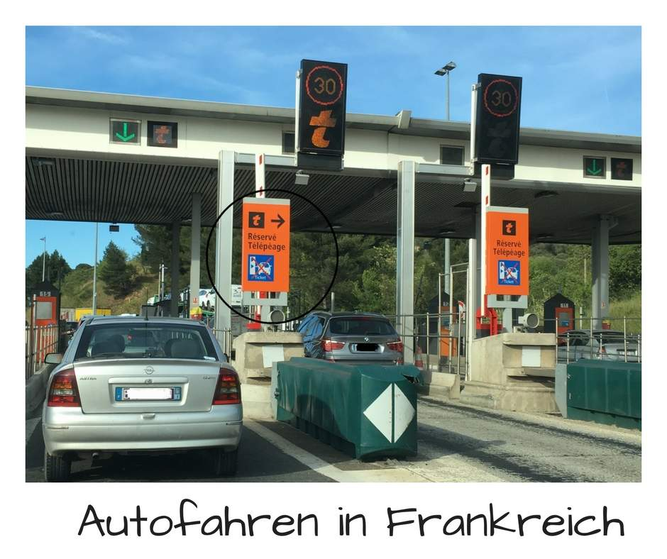 Autofahren in Frankreich, Mautgebühren in Frankreich, Umweltplakette Frankreich