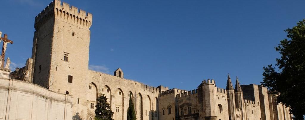 Avignon - Papstpalast - Provence Sehenswürdigkeiten