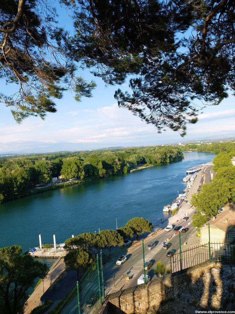 Sehenswürdigkeiten Avignon - Blick vom Rocher des Domes