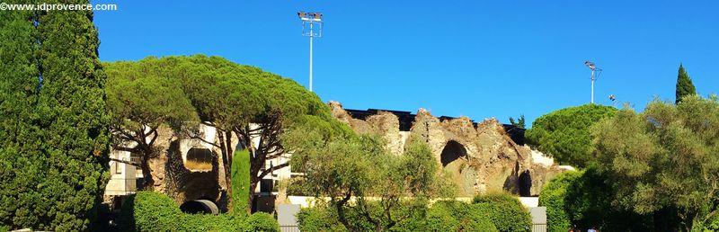 Römisches Amphithéâtre von Fréjus/Frankreich Amphithéâtre romain / Arènes