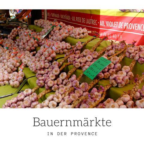 Bauernmärkte Provence