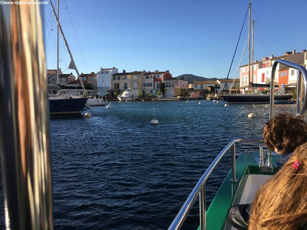Port Grimaud, der künstliche Hafen in der Bucht von St Tropez