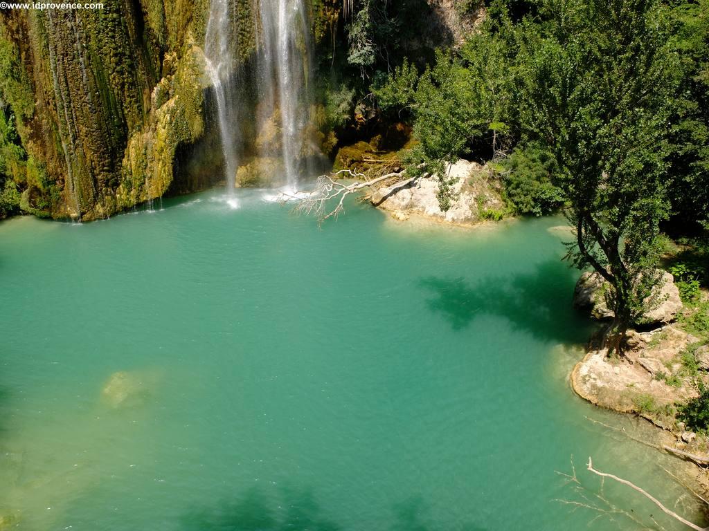 Sehenswürdigkeiten der Provence Die Wasserfälle von Sillans-la-Cascade