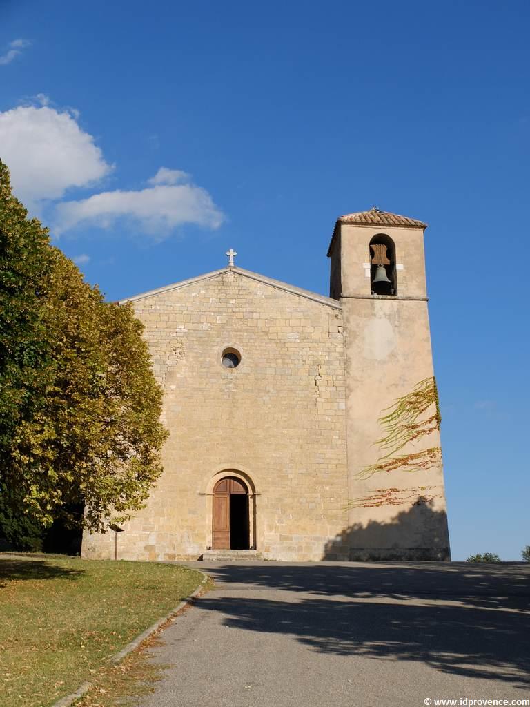 L'église Saint-Denis in Tourtour